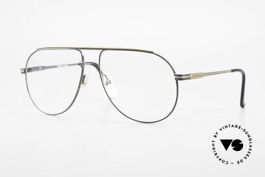 Pierre Cardin 803 80er Tropfenform Herrenbrille Details