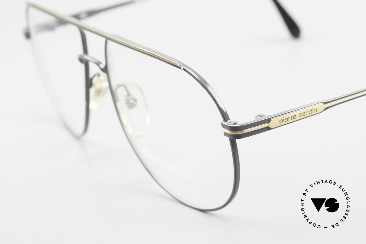 Pierre Cardin 803 80er Tropfenform Herrenbrille, absolute TOP-Qualität - muss man(n) fühlen!, Passend für Herren