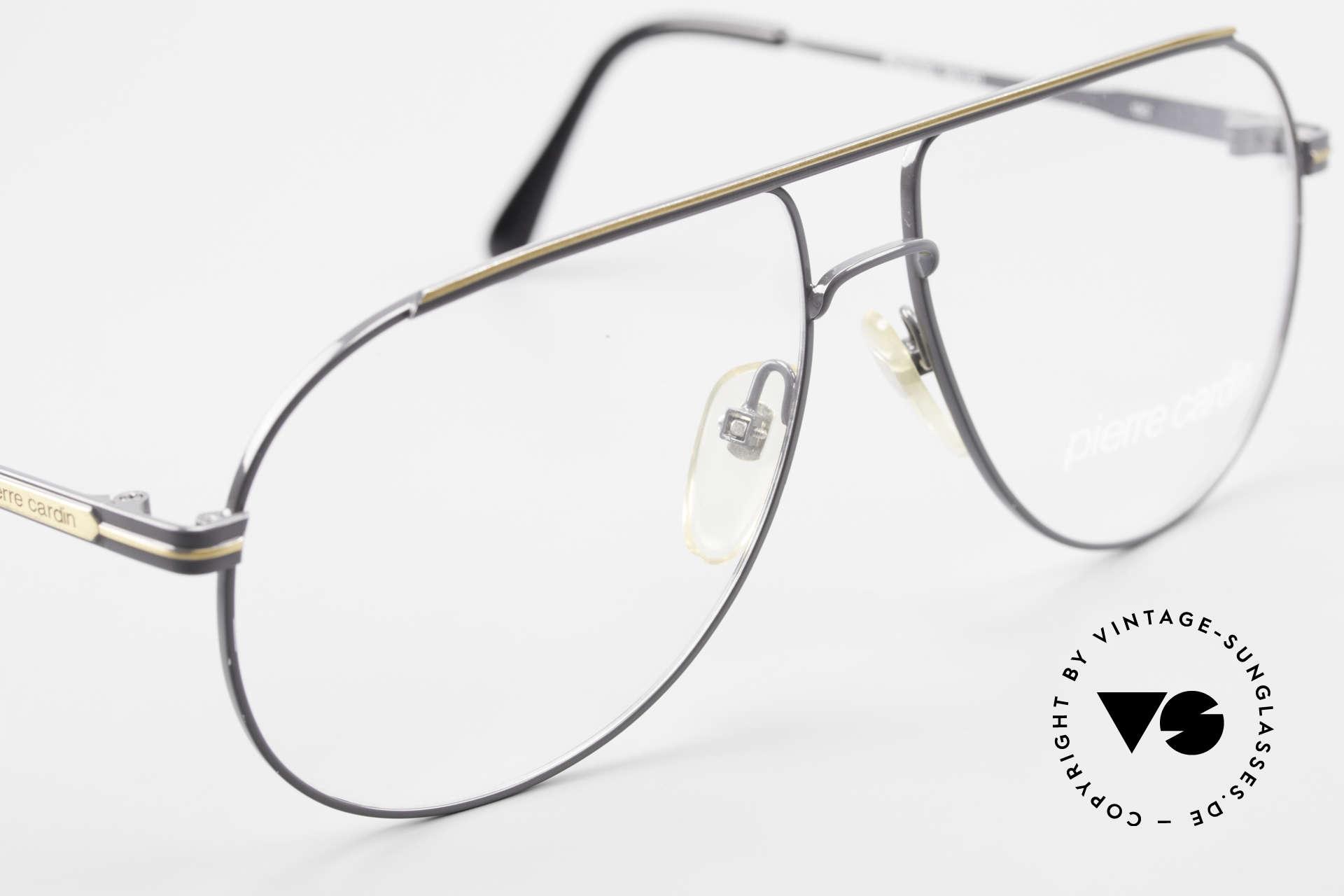Pierre Cardin 803 80er Tropfenform Herrenbrille, ungetragen (wie all unsere vintage Fassungen), Passend für Herren