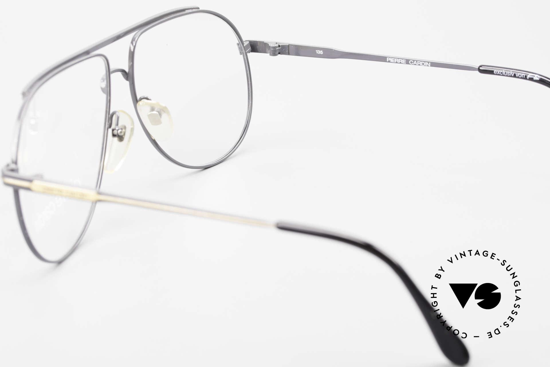 Pierre Cardin 803 80er Tropfenform Herrenbrille, KEINE RETROBRILLE, ein 80er Jahre ORIGINAL, Passend für Herren