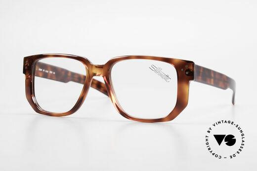 Silhouette M2097 Echte 80er Old School Brille Details