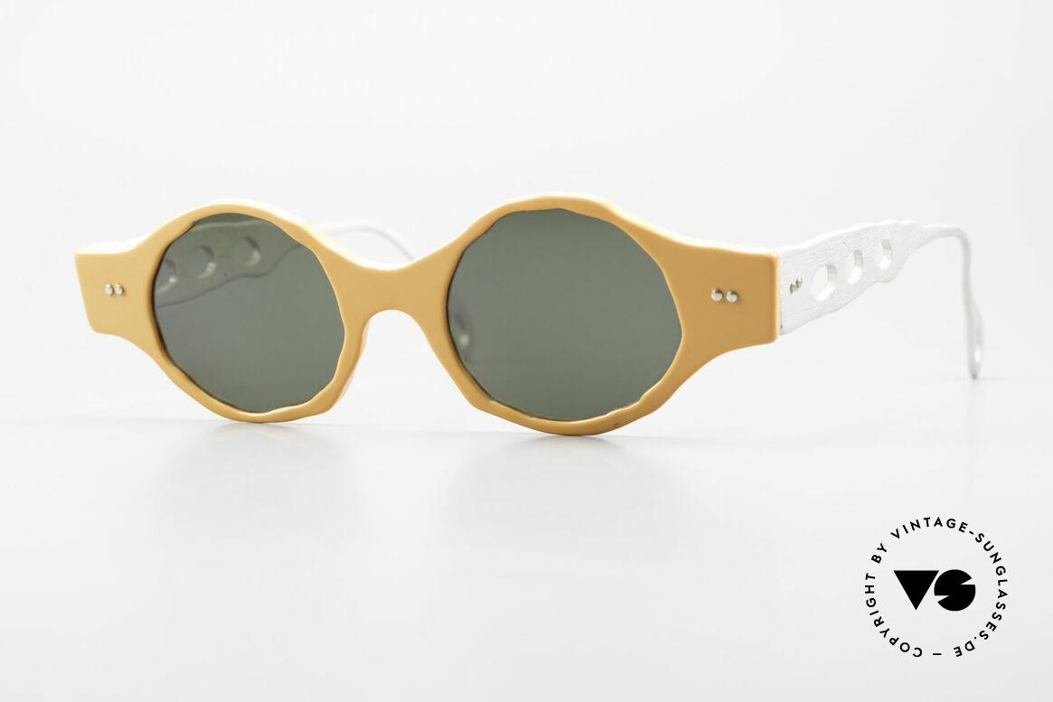 Theo Belgium Eye-Witness BK51 Vintage Designer Sonnenbrille, Theo Belgium: die eigenwilligste Brillenmarke, weltweit, Passend für Herren und Damen