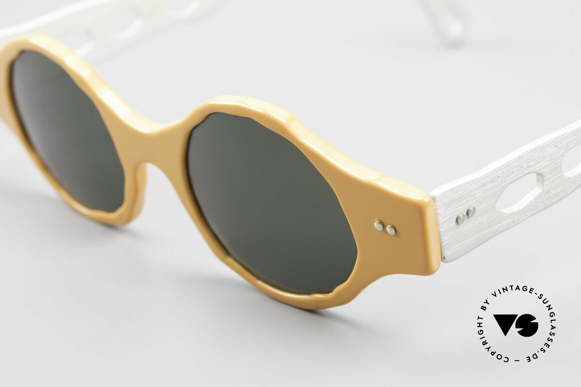 """Theo Belgium Eye-Witness BK51 Vintage Designer Sonnenbrille, Eye-Witness kam 1995 als """"unvollendet"""" & asymmetrisch, Passend für Herren und Damen"""