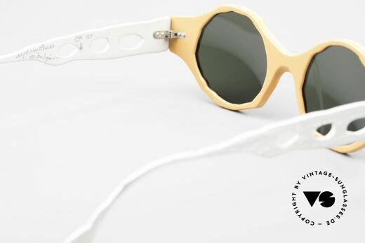 Theo Belgium Eye-Witness BK51 Vintage Designer Sonnenbrille, Größe: medium, Passend für Herren und Damen