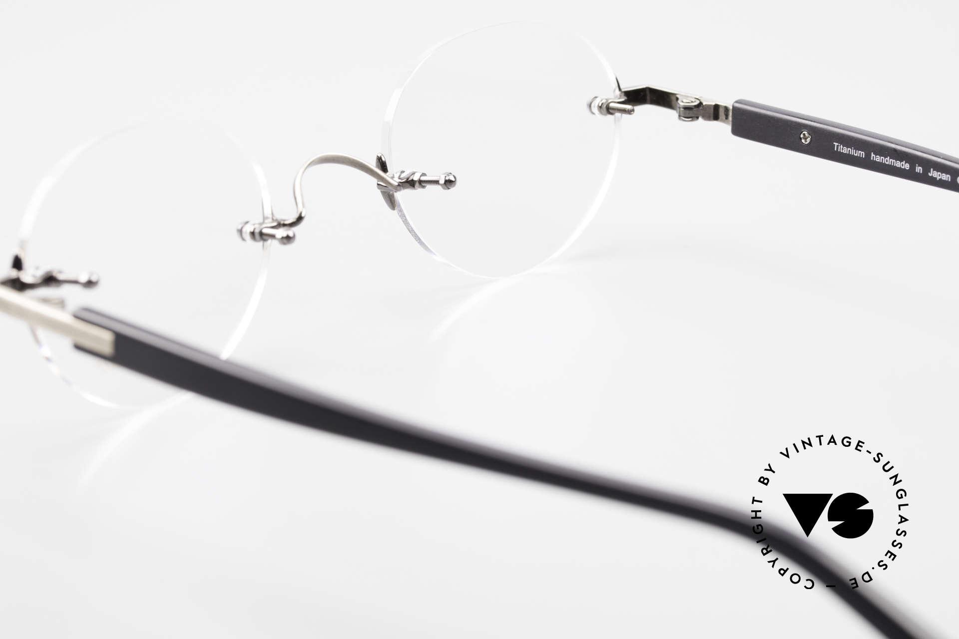 Lunor Classic V Panto AS Randlose Panto Brille Unisex, Größe: small, Passend für Herren und Damen