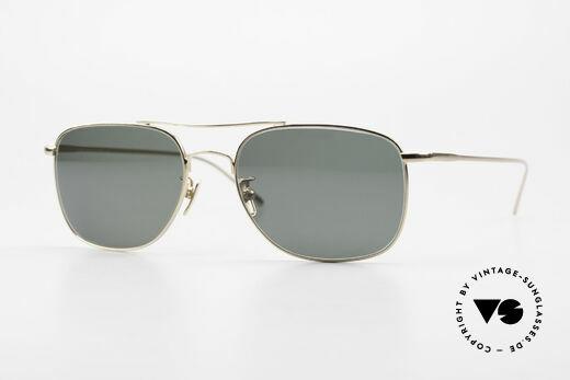Lunor Aviator II P4 GP Stilvolle Herren Sonnenbrille Details