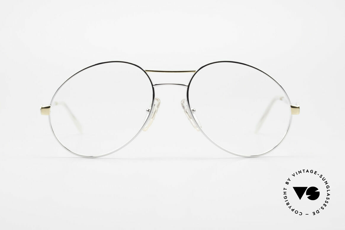 Bugatti 65984 80er Brille Mit Sonnen-Clip, Größe: medium, Passend für Herren