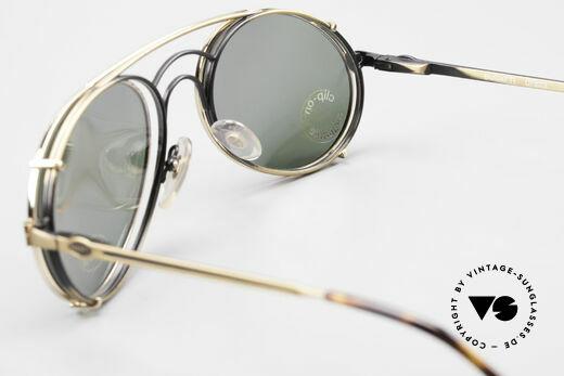 Bugatti 07823 Alte 80er Brille mit Vorhänger, KEINE RETROmode; sondern ein altes 80er ORIGINAL, Passend für Herren
