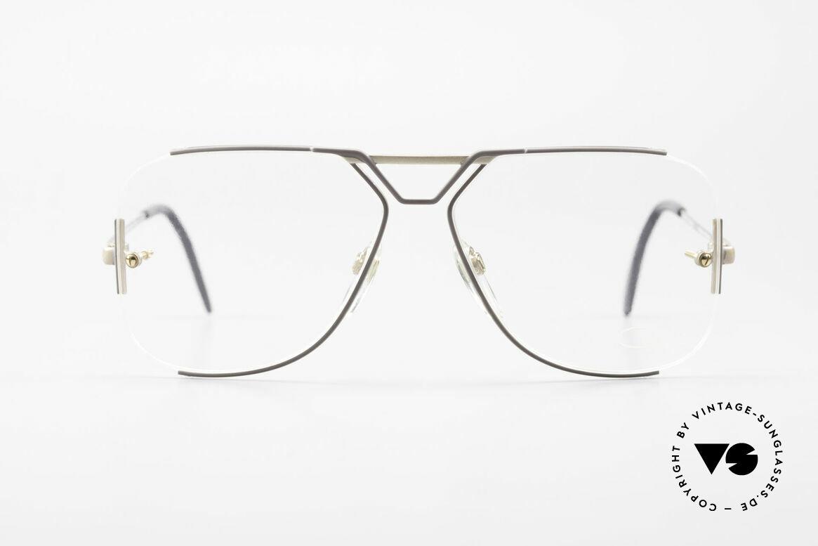 Cazal 722 Außergewöhnliche 80er Brille, außergewöhnliche Cazal Designerbrille von 1984, Passend für Herren