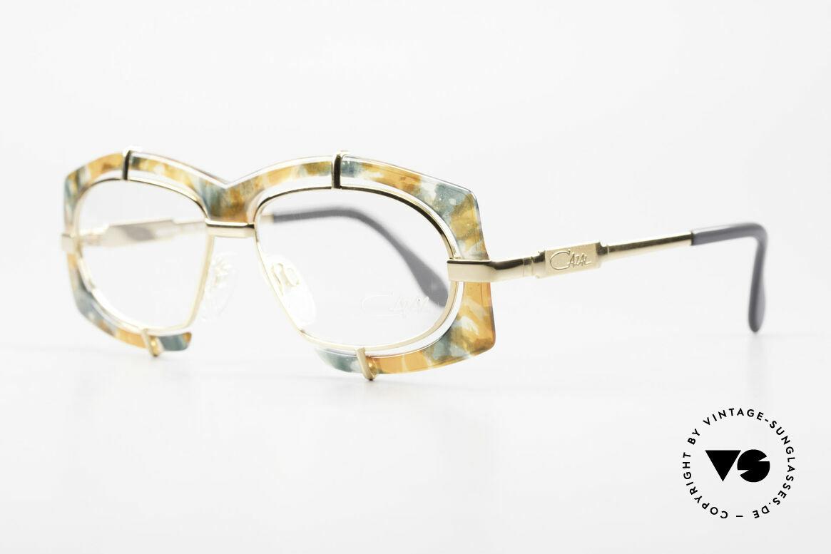 Cazal 872 Außergewöhnliche Brille 90er, pompöse Haute Couture Brille; charakteristisch Cazal, Passend für Herren und Damen