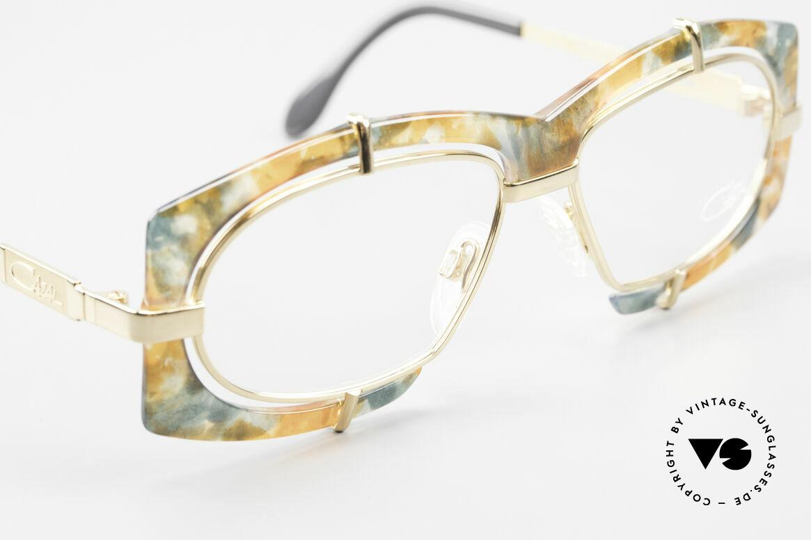 Cazal 872 Außergewöhnliche Brille 90er, ungetragen (wie all unsere vintage Cazal Fassungen), Passend für Herren und Damen