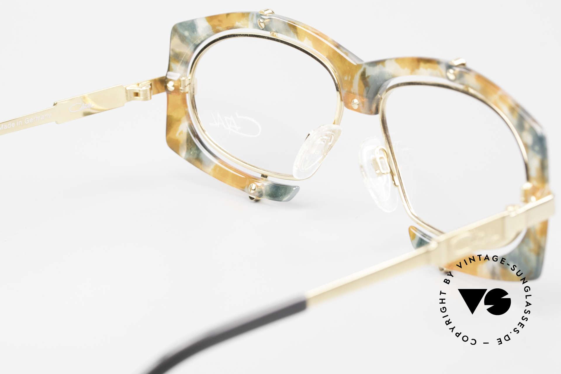 Cazal 872 Außergewöhnliche Brille 90er, KEINE RETRObrille; sondern ca. 25 Jahre alte Rarität, Passend für Herren und Damen