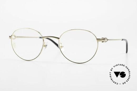 Cartier C-Decor Panto Klassische Luxusbrille Unisex Details