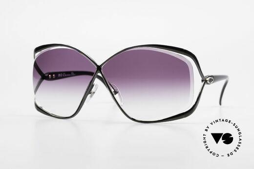 Christian Dior 2056 80er Butterfly Sonnenbrille Details