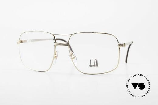 Dunhill 6048 Vergoldete 80er Brille Herren Details