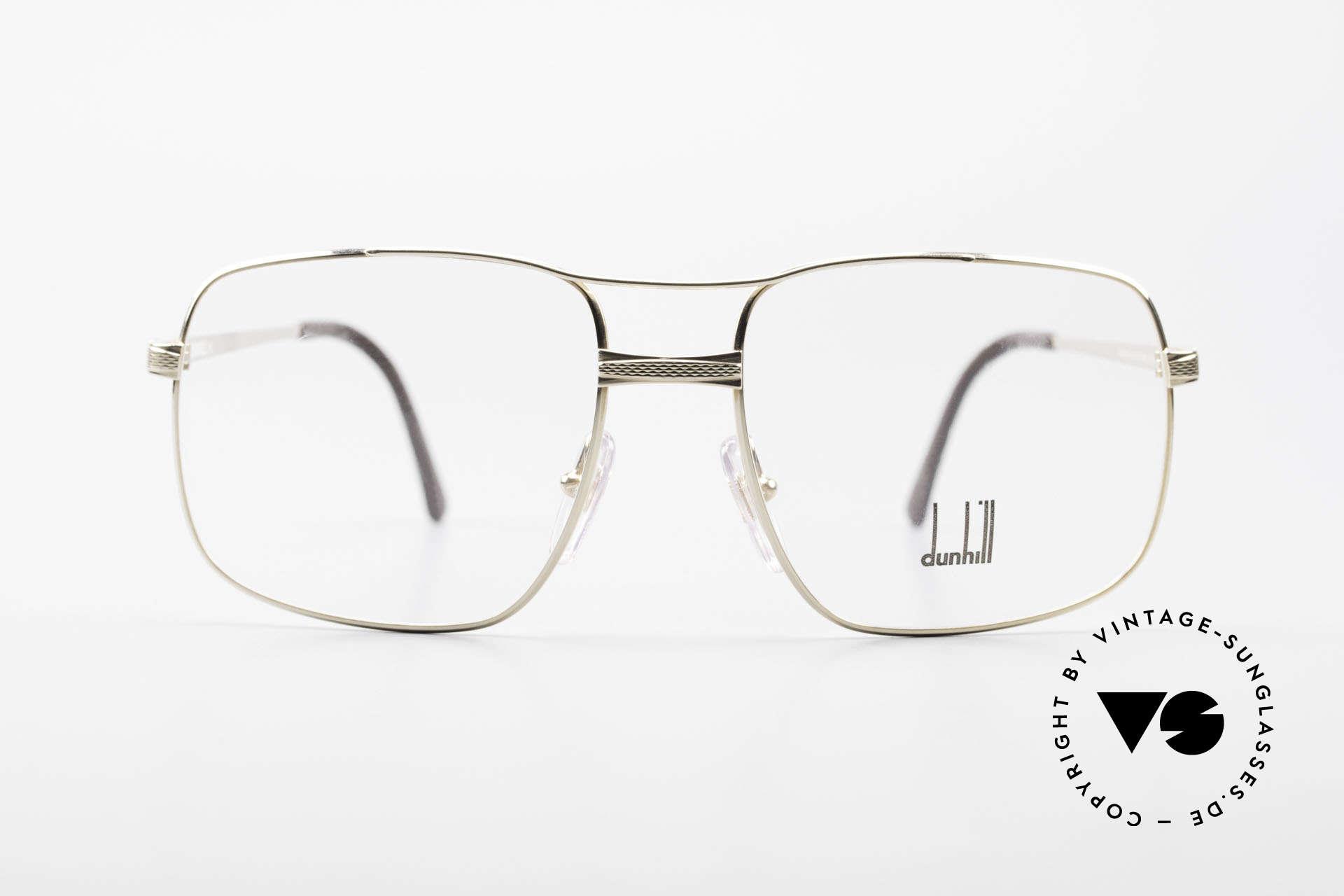 Dunhill 6048 Vergoldete 80er Brille Herren, dieses Modell kombiniert alle Qualitätsmerkmale, Passend für Herren