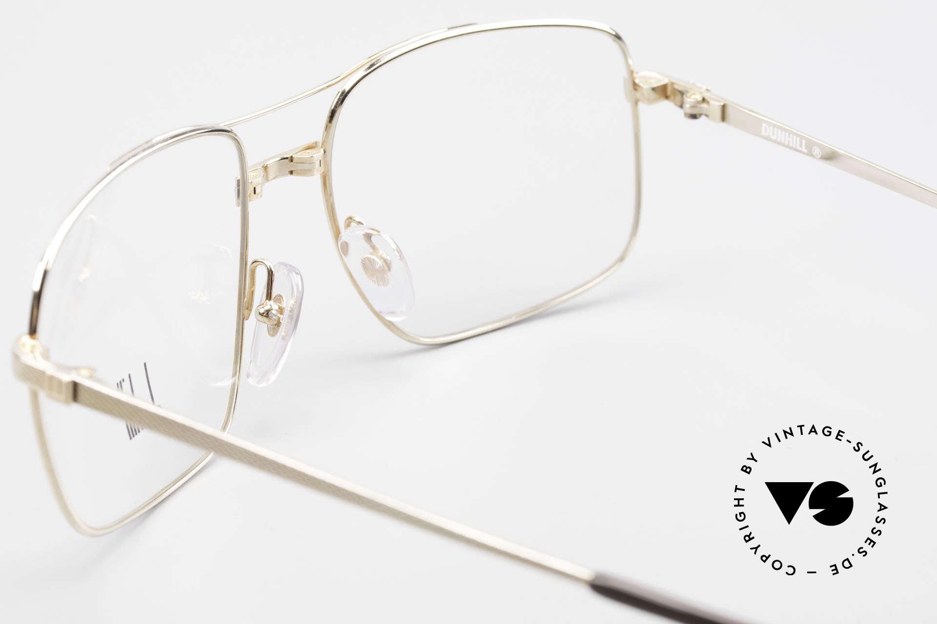 Dunhill 6048 Vergoldete 80er Brille Herren, KEINE Retrobrille; sondern ein kostbares Original!, Passend für Herren