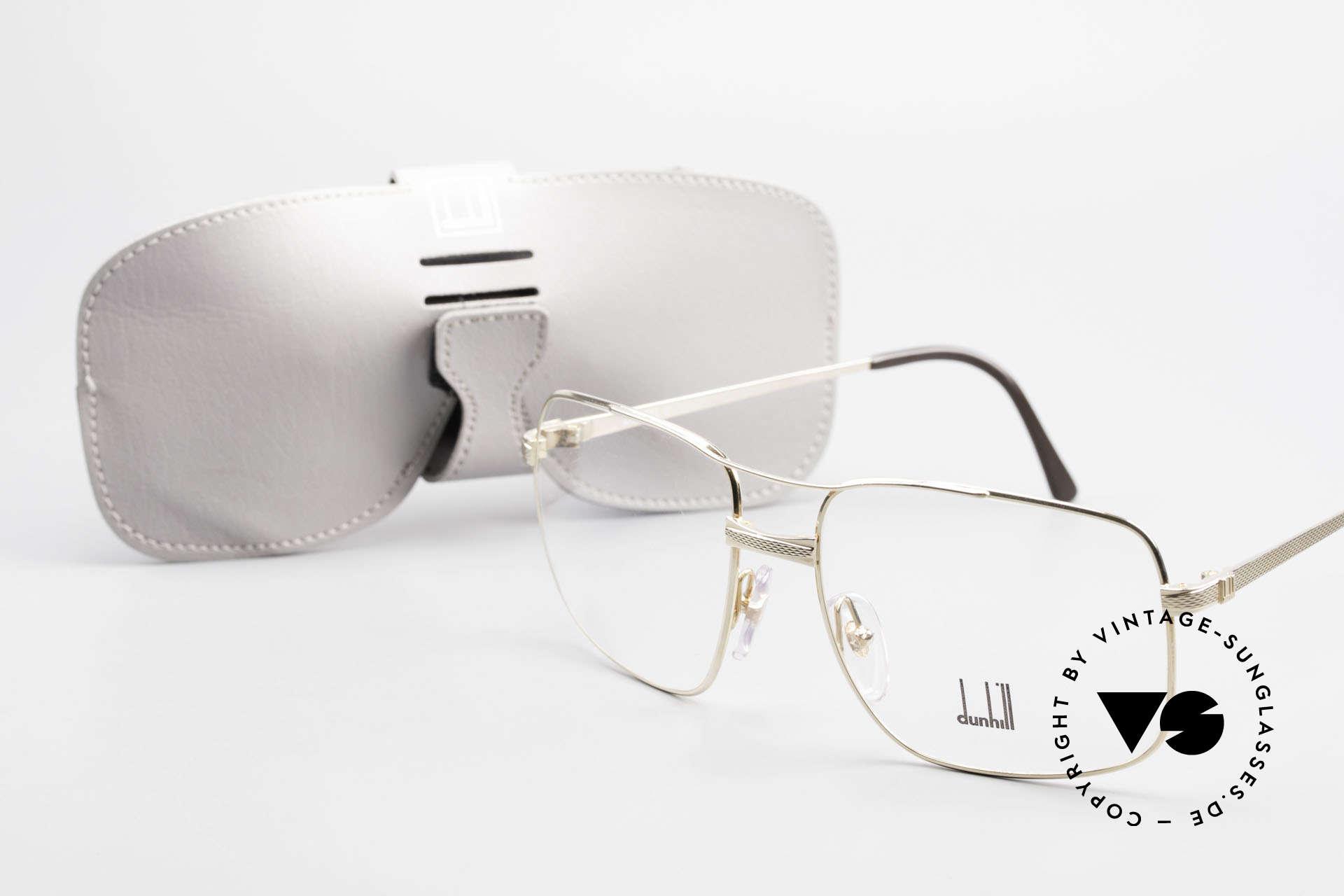 Dunhill 6048 Vergoldete 80er Brille Herren, Größe: large, Passend für Herren