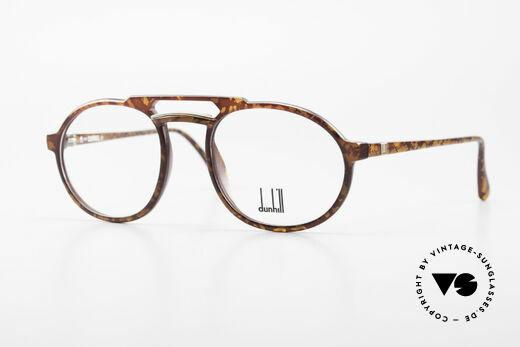 Dunhill 6114 Rund Ovale Vintage Brille 90er Details