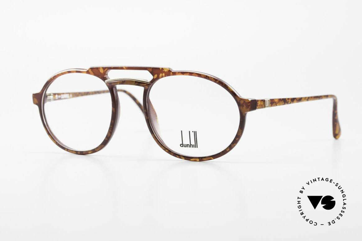 Dunhill 6114 Rund Ovale Vintage Brille 90er, rund ovale vintage Brillenfassung von A. Dunhill, Passend für Herren