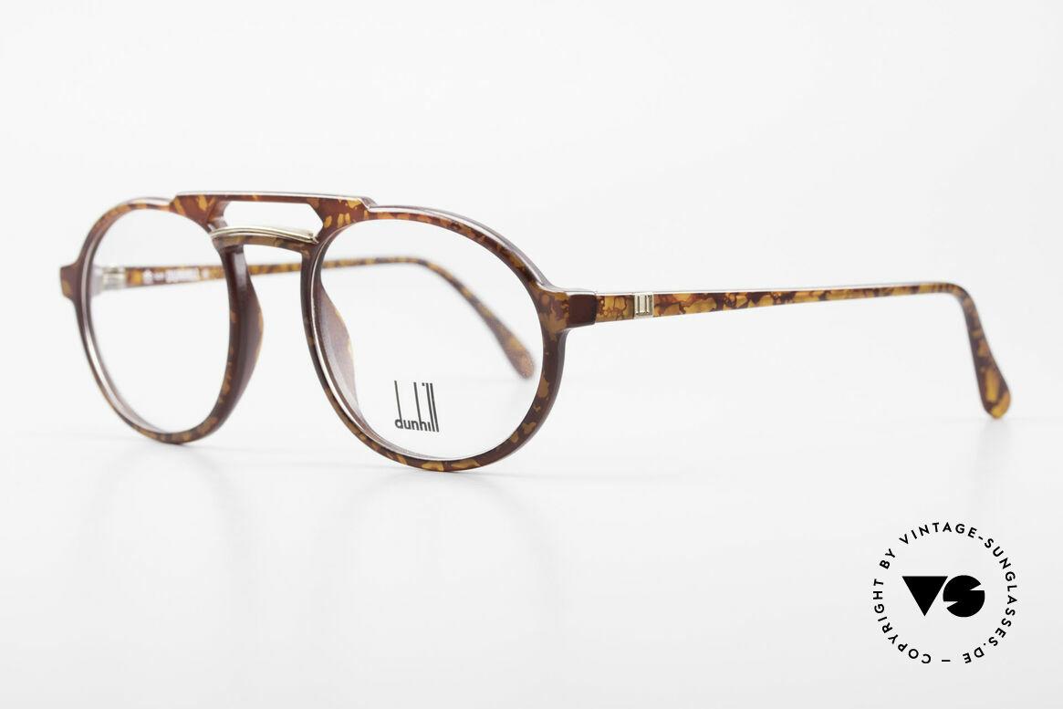 Dunhill 6114 Rund Ovale Vintage Brille 90er, das leichte & robuste Optyl scheint nicht zu altern, Passend für Herren