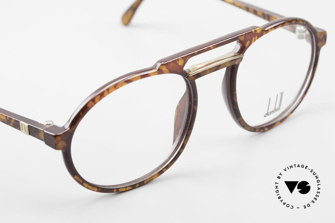Dunhill 6114 Rund Ovale Vintage Brille 90er, ungetragen (wie alle unsere vintage Dunhill Brillen), Passend für Herren