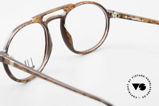 Dunhill 6114 Rund Ovale Vintage Brille 90er, KEIN Retrodesign; authentische alte Ware von 1990, Passend für Herren