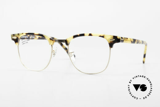 Ray Ban Clubmaster Limited Edition Brille B&L USA Details