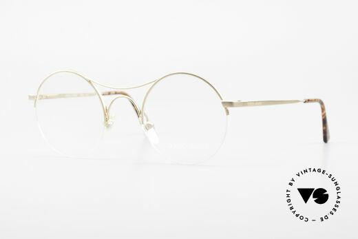 Giorgio Armani 121 Schubert Brillen Stil in Rund Details