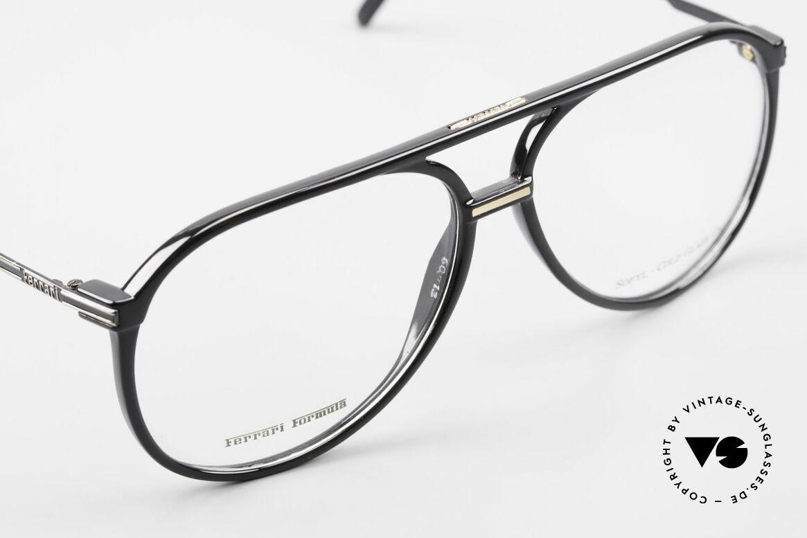 Ferrari F51 Formel 1 Rennfahrer Brille, ungetragen (wie alle unsere Ferrari vintage Brillen), Passend für Herren