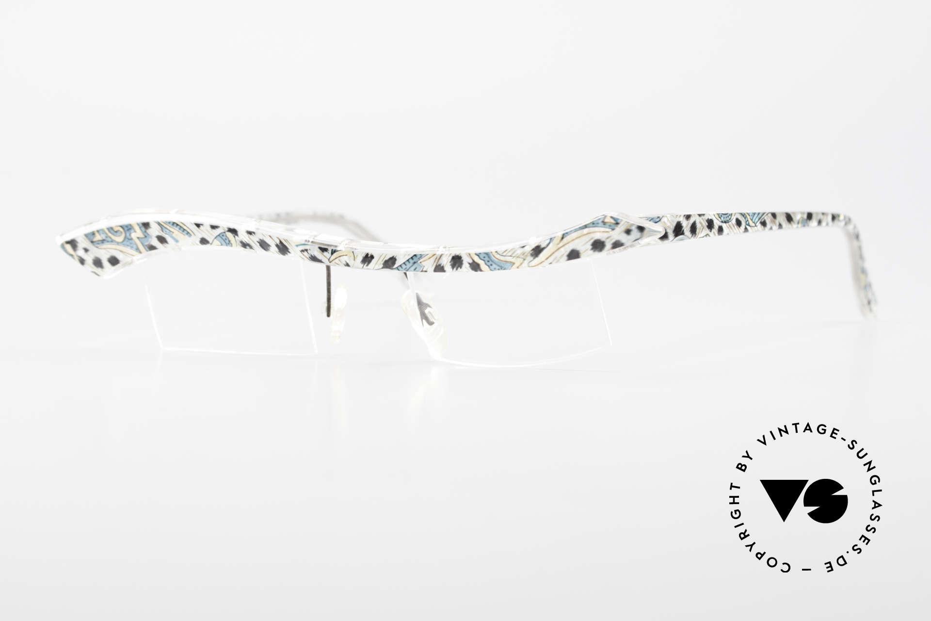 Tattoo Impuls Verrückte Vintage Damenbrille, TATTO-O Impuls Brille: der Name sagt eigentlich alles, Passend für Damen