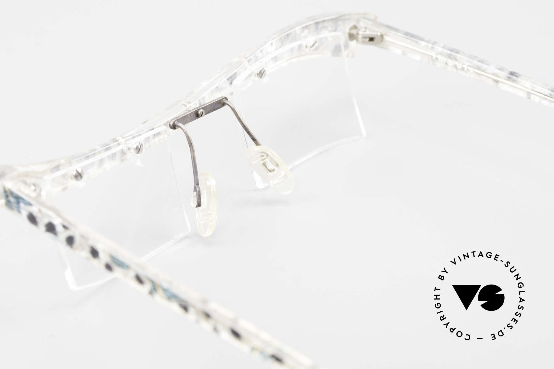 Tattoo Impuls Verrückte Vintage Damenbrille, Größe: small, Passend für Damen