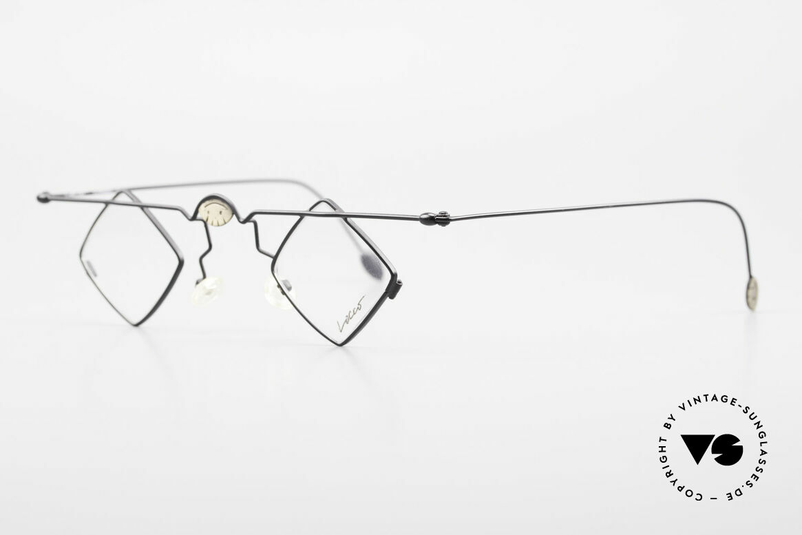 Locco 08 Gute Laune Vintage Brille 90er, gemacht für alle Individualisten und Charakter-Köpfe, Passend für Herren und Damen