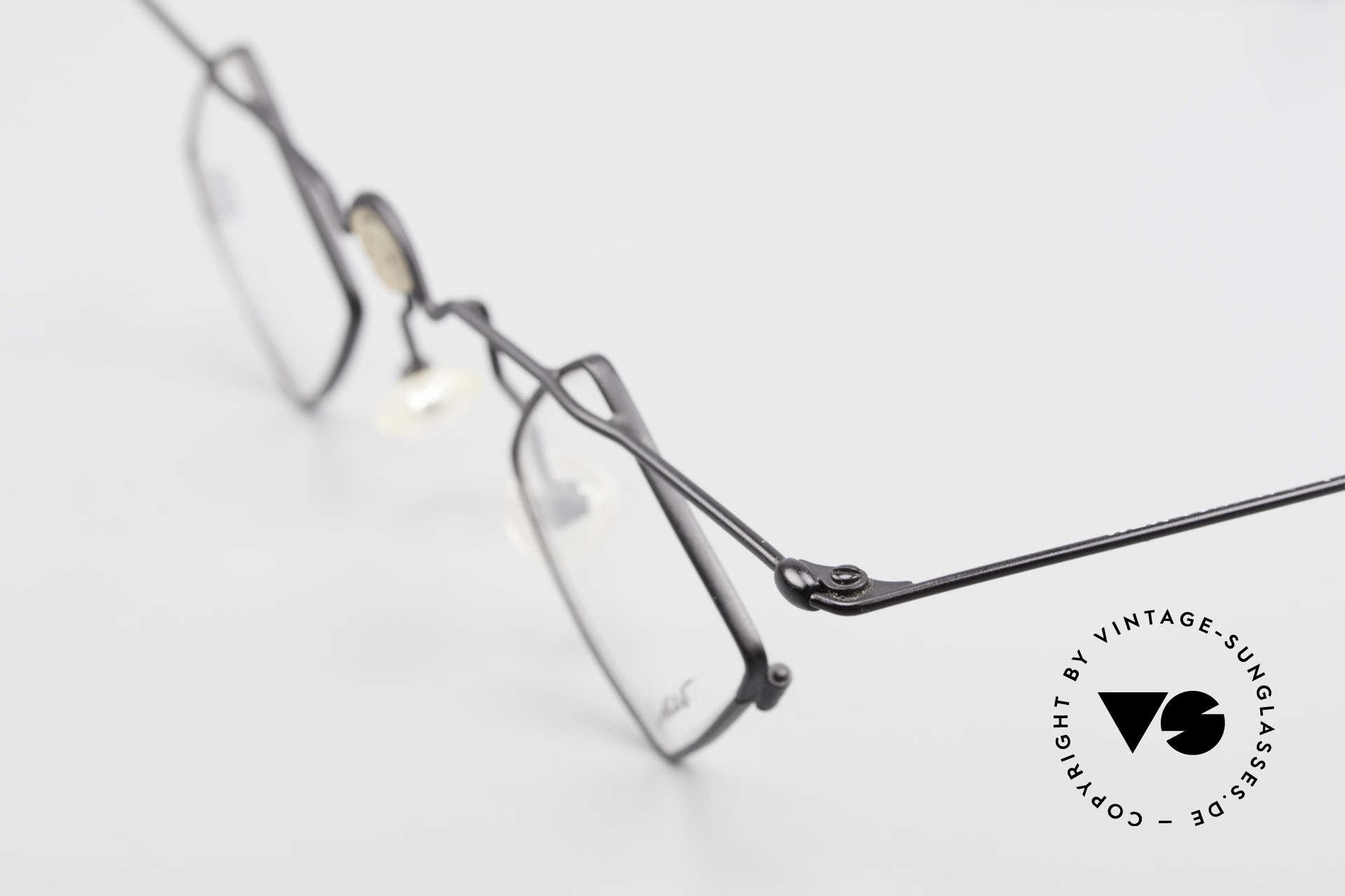 Locco 08 Gute Laune Vintage Brille 90er, KEINE Retrobrille, sondern ein 1990er Jahre ORIGINAL, Passend für Herren und Damen