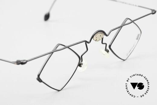 Locco 08 Gute Laune Vintage Brille 90er, die Demogläser sollten durch optische ersetzt werden, Passend für Herren und Damen