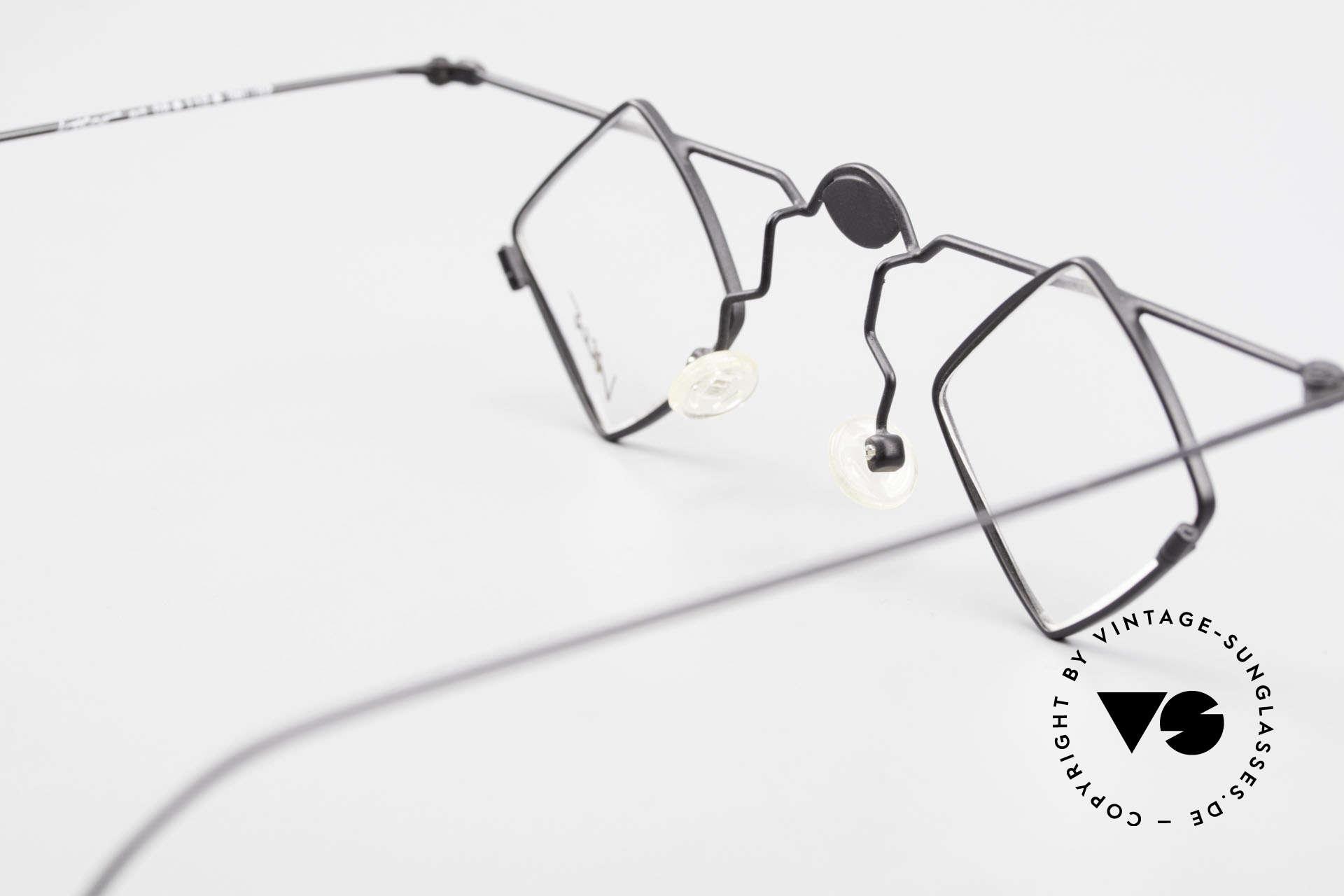 Locco 08 Gute Laune Vintage Brille 90er, Größe: large, Passend für Herren und Damen