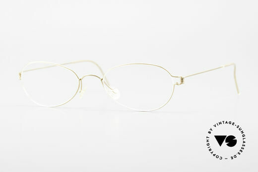 Lindberg Kari Air Titan Rim Ovale Titanium Brille Damen Details