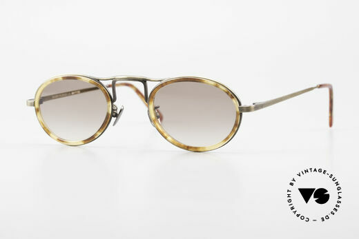 Oliver Peoples MP1 Vintage Designer Brille Oval Details
