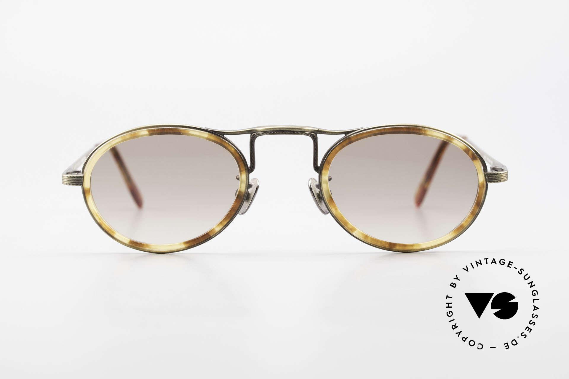 Oliver Peoples MP1 Vintage Designer Brille Oval, Luxusbrille: verkörpert den Lifestyle von Los Angeles, Passend für Herren und Damen