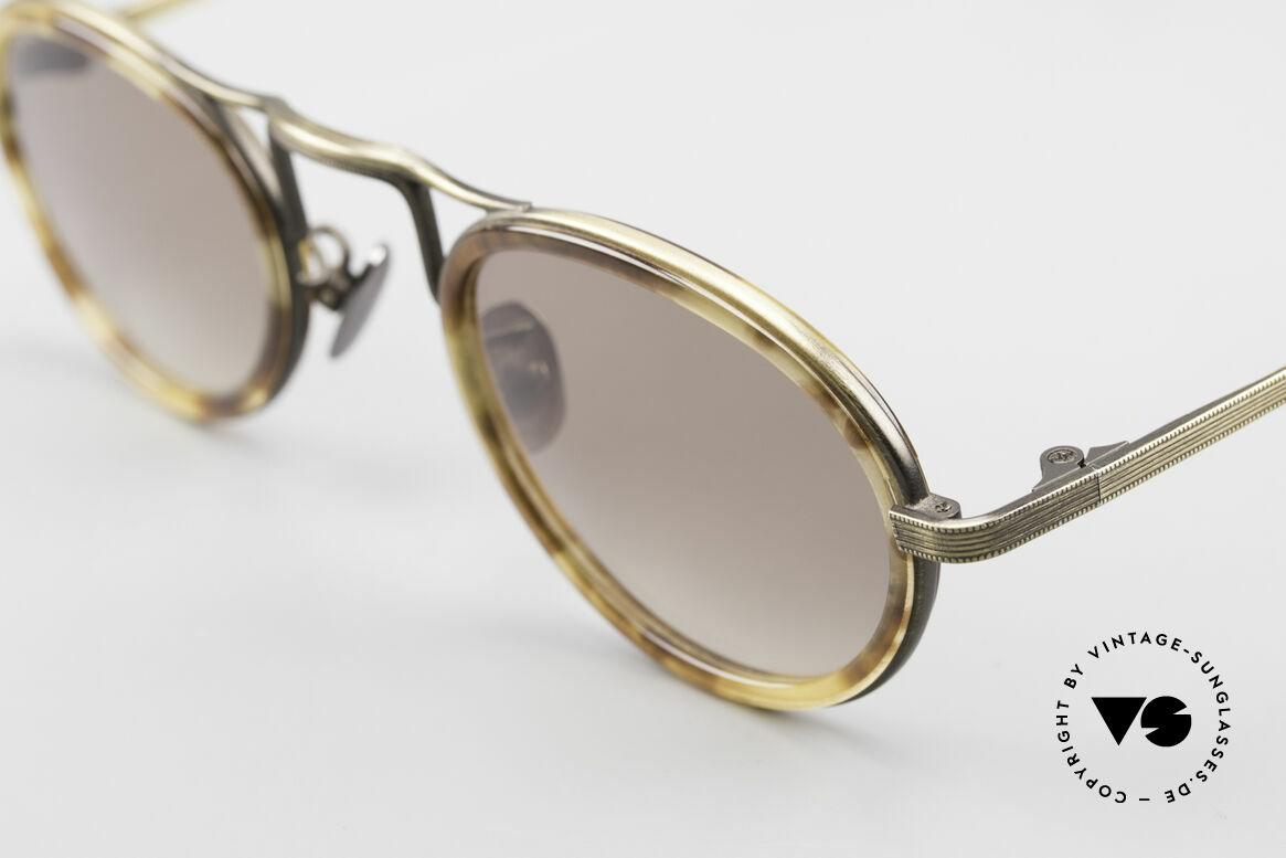 Oliver Peoples MP1 Vintage Designer Brille Oval, ungetragenes O. Peoples Einzelstück (made in Japan), Passend für Herren und Damen