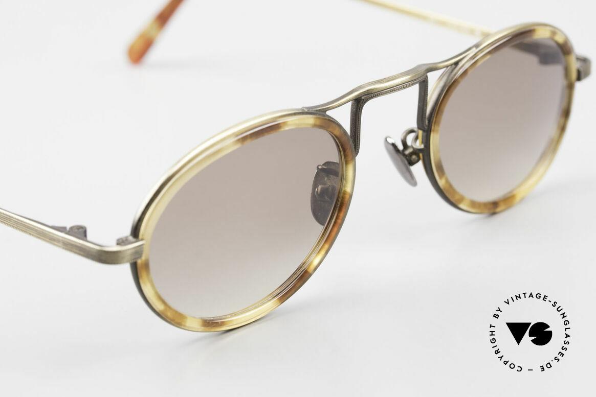 Oliver Peoples MP1 Vintage Designer Brille Oval, KEINE Retrobrille, sondern ein 25 Jahre altes Original, Passend für Herren und Damen