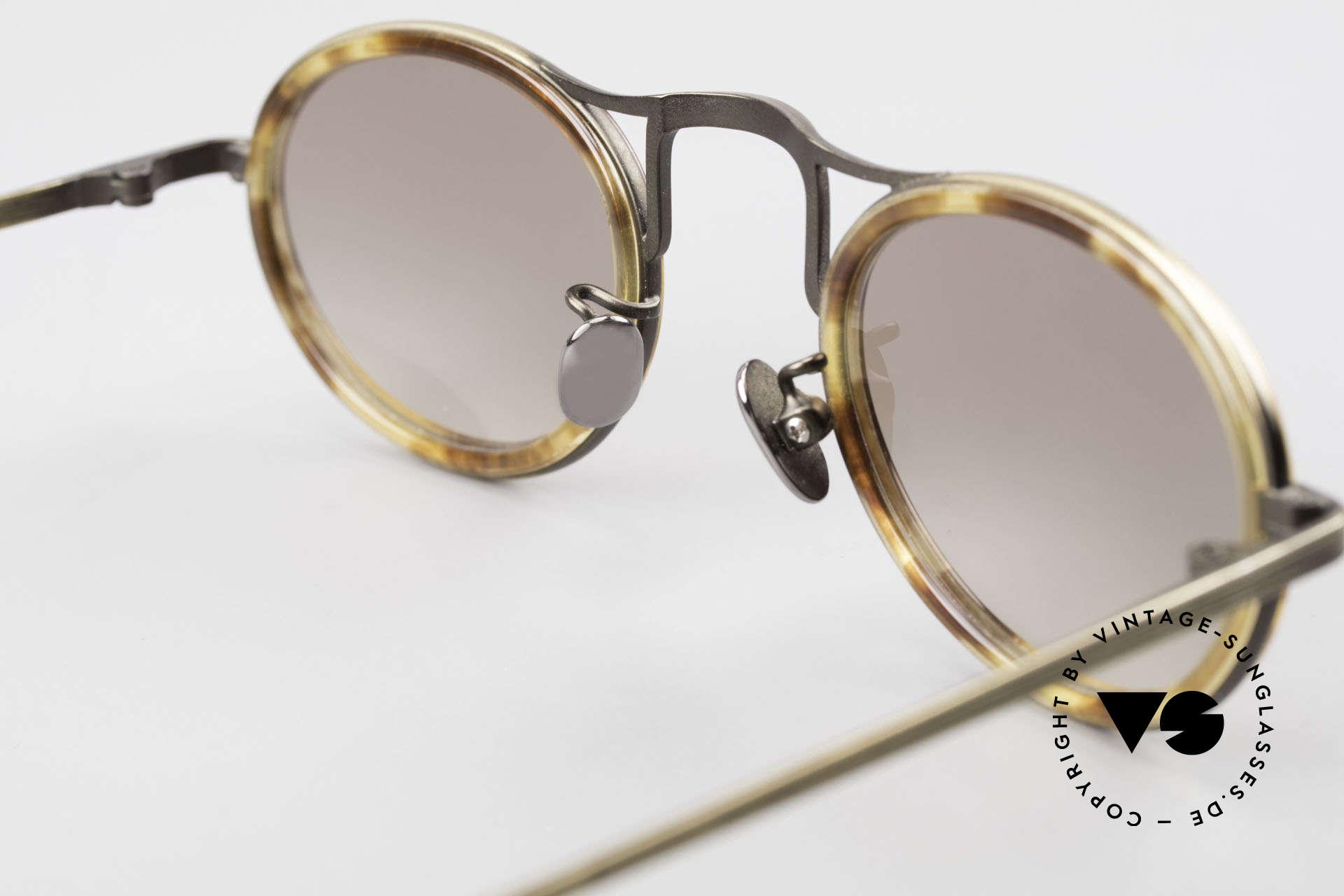 Oliver Peoples MP1 Vintage Designer Brille Oval, Qualitätsfassung kann beliebig optisch verglast werden, Passend für Herren und Damen