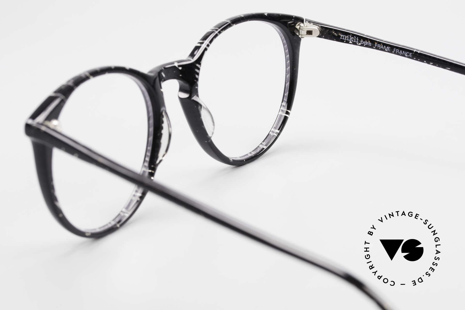 Alain Mikli 901 / 299 Panto Brille Schwarz Kristall, die Fassung ist beliebig verglasbar (optisch / Sonne), Passend für Herren und Damen