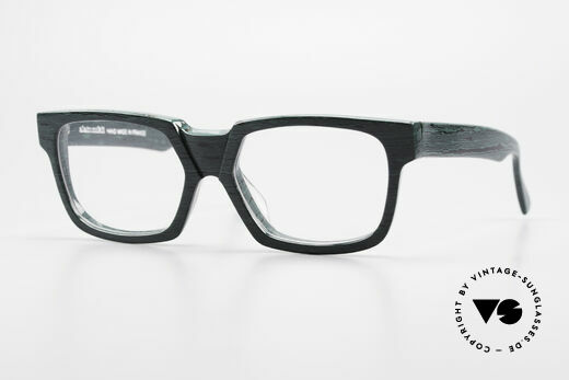 Alain Mikli 0143 / 285 Markante 80er Designerbrille Details