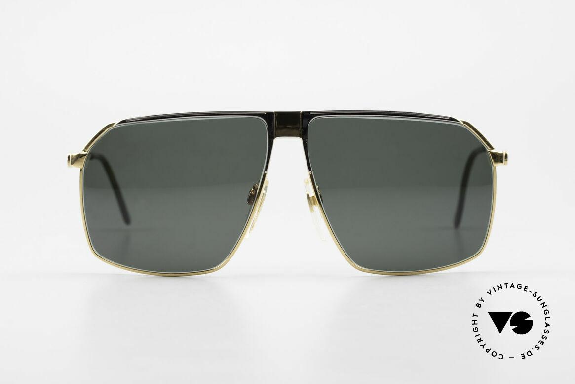 Gucci GG41 22Kt Vergoldete Sonnenbrille, die meistgesuchte 80er Jahre Sonnenbrille von GUCCI, Passend für Herren