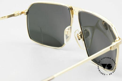 Gucci GG41 22Kt Vergoldete Sonnenbrille, KEINE RETROBRILLE, sondern das alte 80er ORIGINAL, Passend für Herren