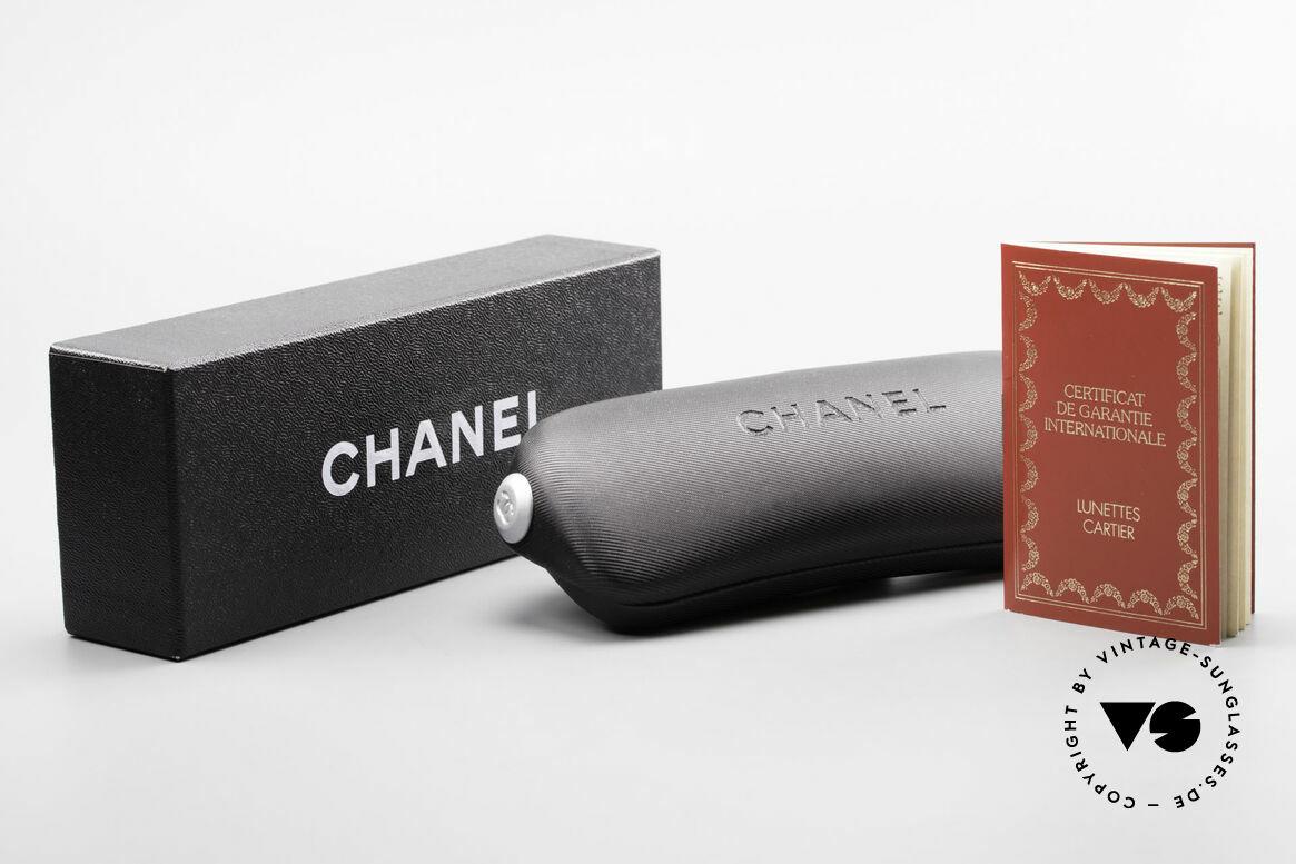 Cartier Panthere G.M. - M Pinke Brille mit Chanel Etui, Größe: medium, Passend für Herren und Damen