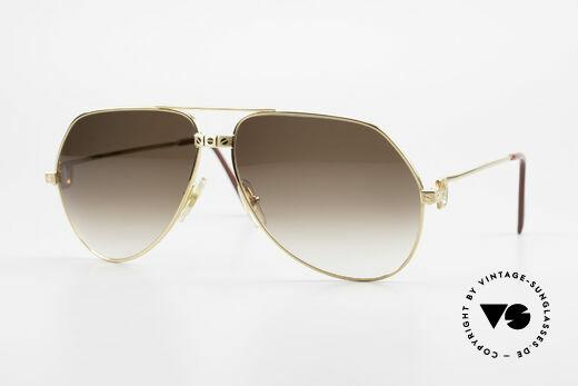 Cartier Vendome Santos - L Special Edition Komplett Gold Details