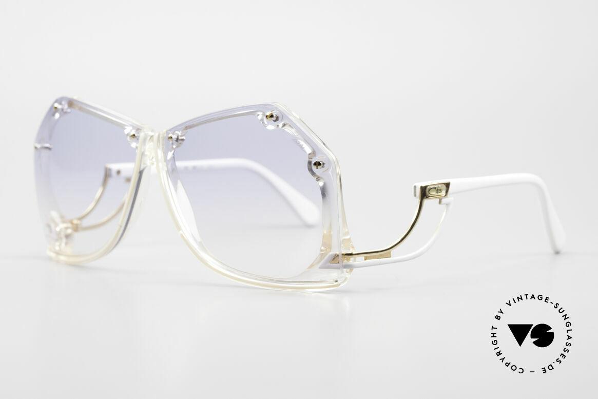Cazal 860 Die Schönste 80er Vintage Cazal, grandioses Design vom Stil-Guru CAri ZALloni, Passend für Damen