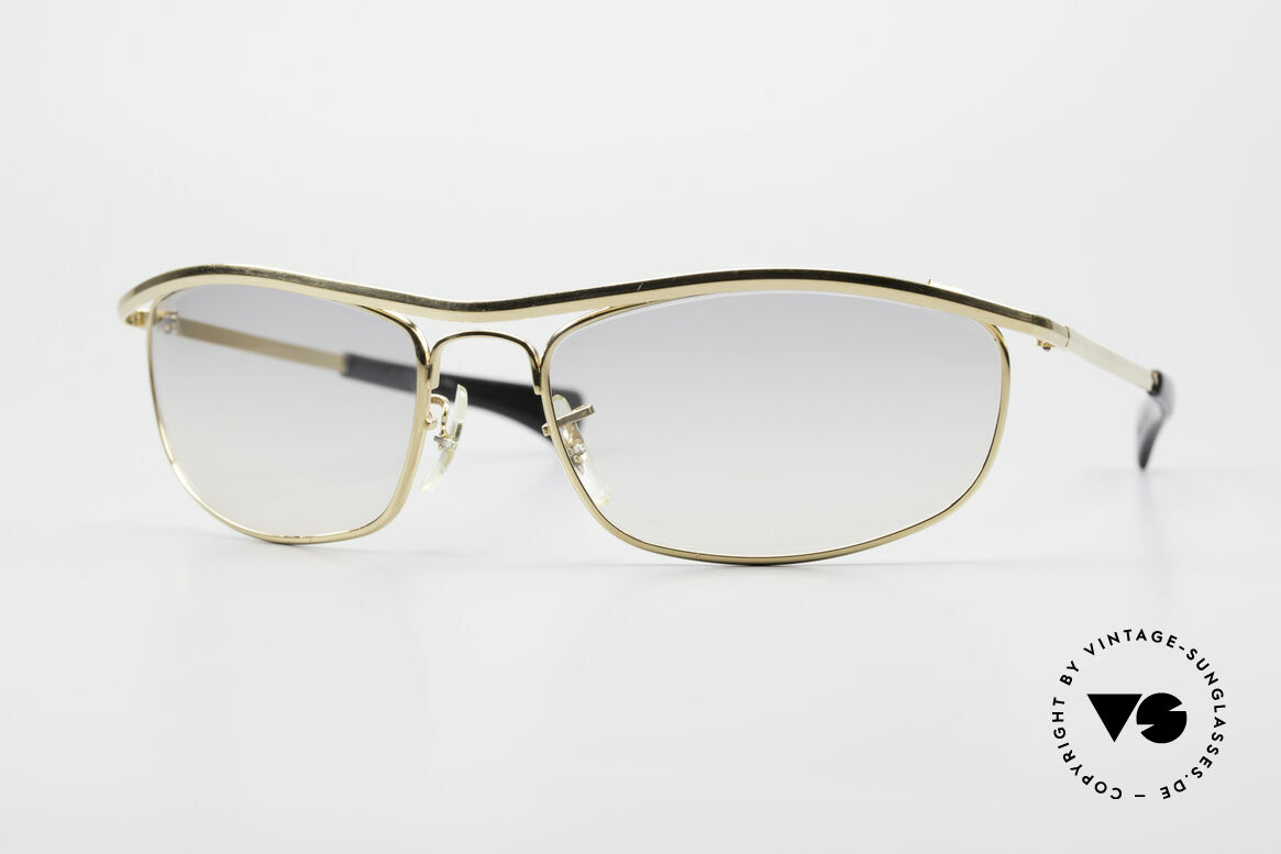 Ray Ban Olympian I DLX Easy Rider Film Sonnenbrille, seltenes B&L Ray-Ban 'Olympian I DeLuxe' Modell, Passend für Herren